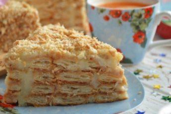 Торт «Ленивый Наполеон»: ретро-рецепт