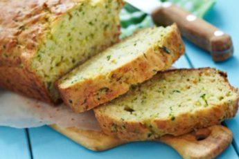 Необычный и очень вкусный кабачковый хлеб с сыром